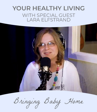 Watch healthy Living podcast with special guest Lara Elfstrand