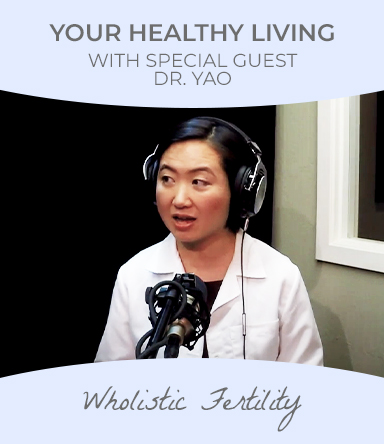 Watch healthy Living podcast with special guest Dr. Yao