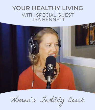 Watch healthy Living podcast with special guest Lisa Bennett